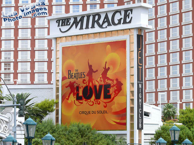 shows at mirage las vegas