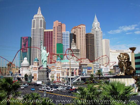 New York New York Hotel Vegas Map